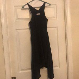 Adorable Talulah little black silk dress.